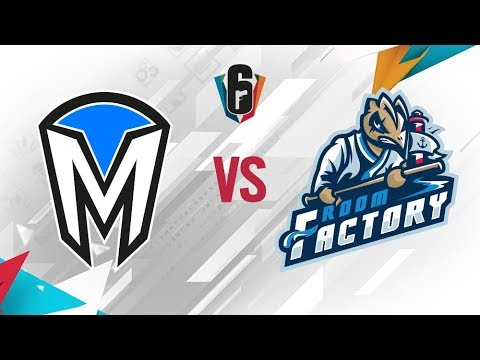 Rainbow Six - Six Invitational 2018 - Mindfreak vs. Room Factory - day 2