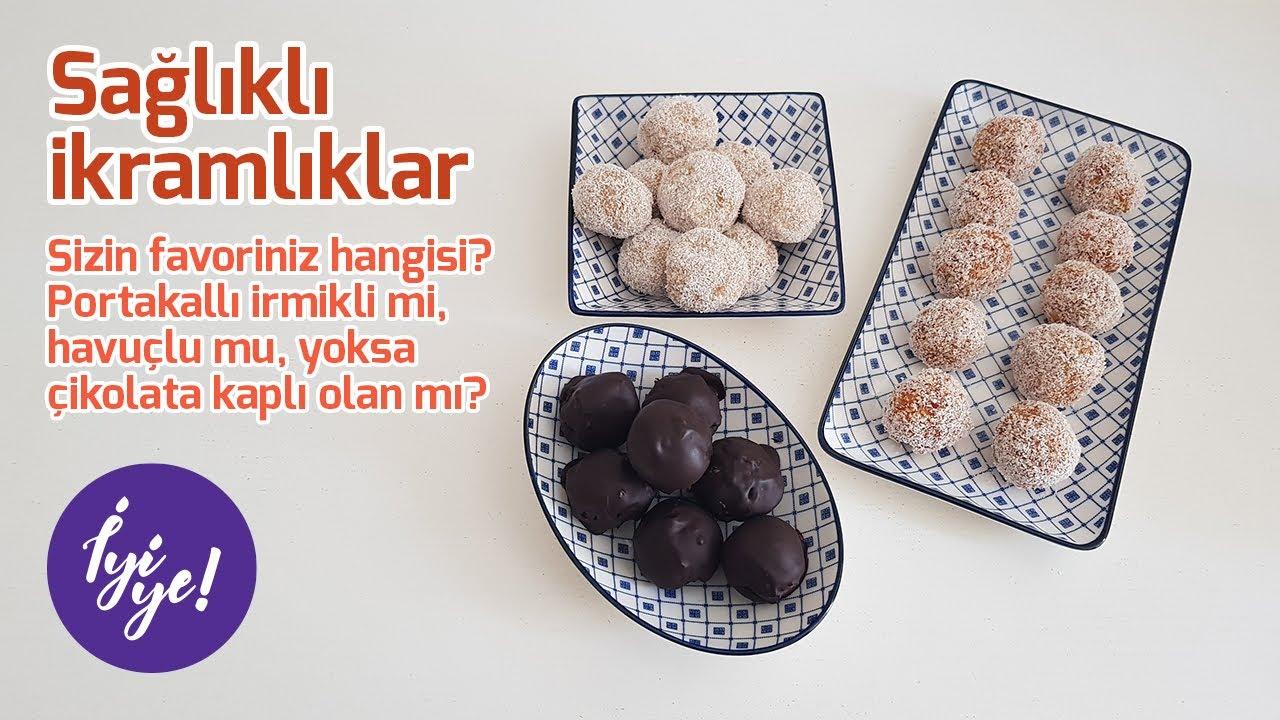 Portakallı İrmik Topları Tarifi / Portakallı İrmikli Lokum - BİLİK AİLESİ