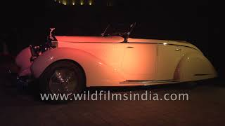 Spirit of Ecstacy: Vintage Rolls Royce in India