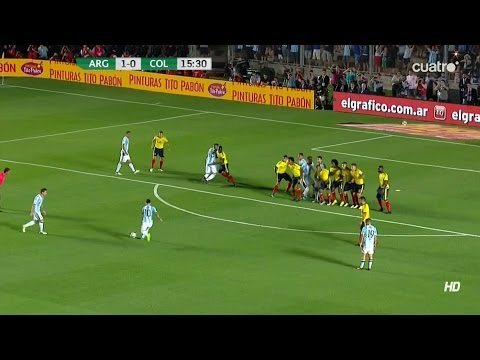Lionel Messi vs Colombia (Home) 16/11/2016 HD 1080i by SH10