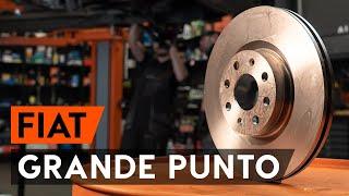 Montering Bremseskiver foran og bak FIAT GRANDE PUNTO: videoopplæring