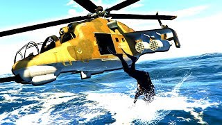 Scuba Diving Commandos go on a Secret Mission to Steal Valuable Treasure in GTA 5!