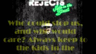 The All-American Rejects - Kids In The Street [Lyrics On Screen]