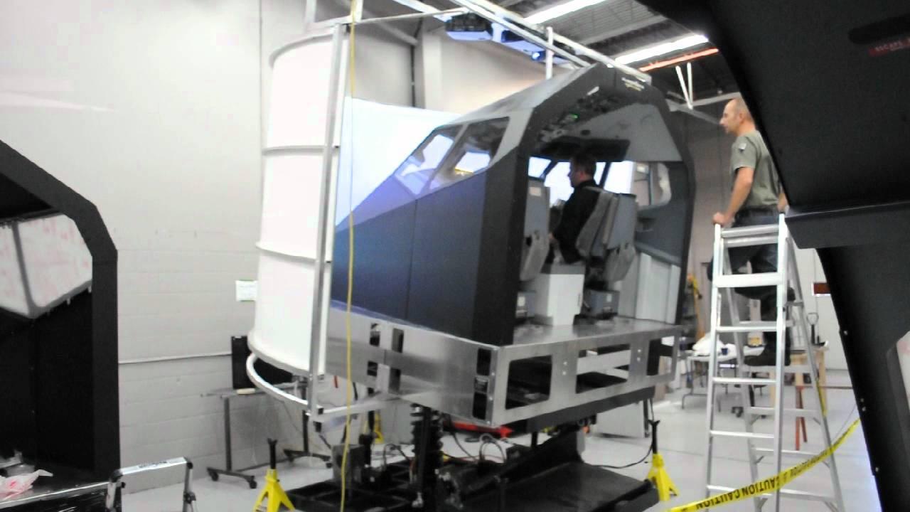 Flightdeck Solutions B737ng Full Motion Flight Simulator