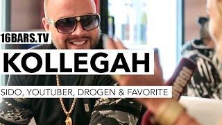 Kollegah über sido, Youtuber, Drogenkonsum, Wachstumshormone & Favorite (16BARS.TV)