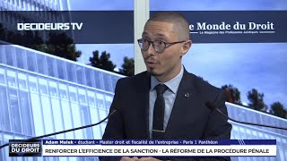 Le renforcement de l'efficacité de la sanction pénale, avec Caroline Joly, Associée, BARO ALTO