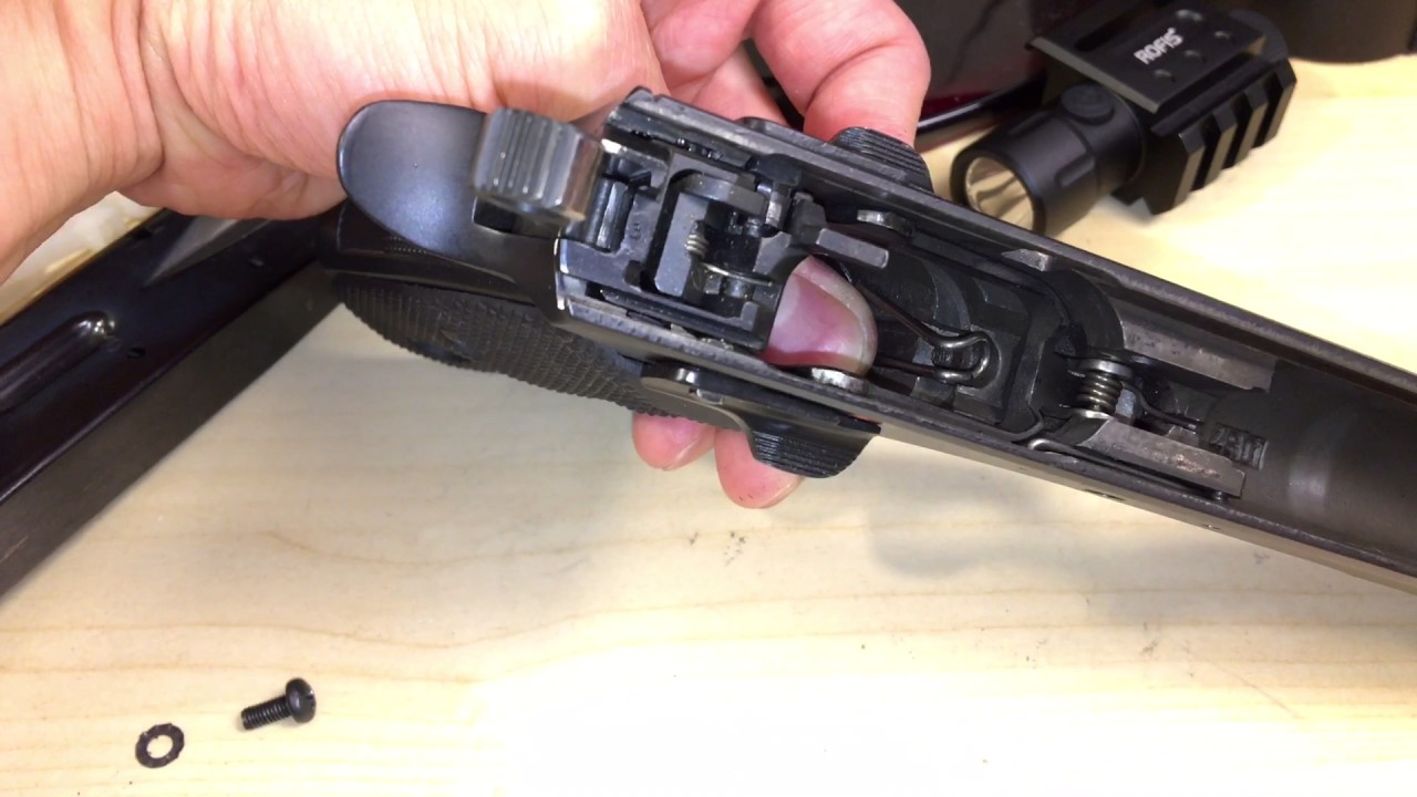 CZ-75 Critical Magazine Release Modification - Do It!
