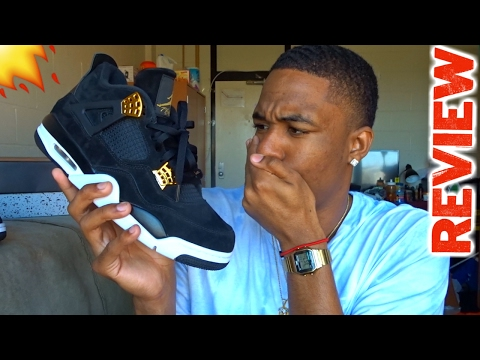 "AIR JORDAN 4 ""ROYALTY"" REVIEW!!"