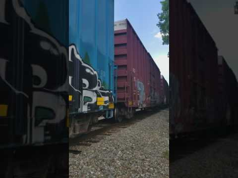Freight Train Through East Kingston, NH