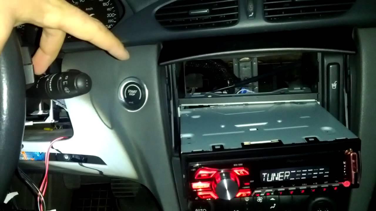 DIY Renault steering control adapter for pioneer  YouTube