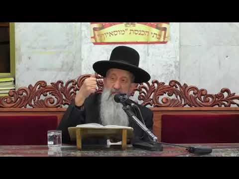 הרב בן ציון מוצפי שבחי ארץ ישראל שיעור מרתק!!!