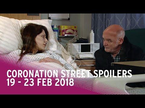 Coronation Street spoilers: 19-23 February 2018 - Corrie