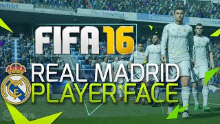 FIFA 16 NEWS! OFFICIAL REAL MADRID PLAYER FACES!