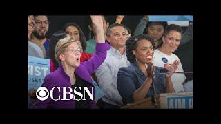 Congresswoman Ayanna Pressley endorses Sen. Elizabeth Warren for president