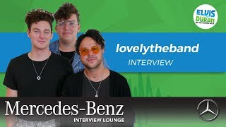 lovelytheband on Importance of Mental Health Talk | Elvis Duran Show Video