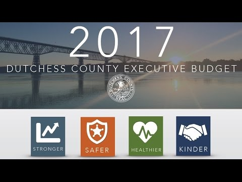 Dutchess County Executive Marc Molinaro Releases 2017 Budget Proposal