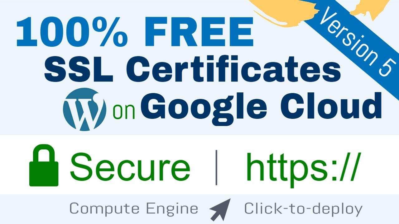 Free SSL Certificate Setup for WordPress on Google Cloud (Click-to