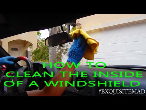 How To Clean a Windshield