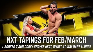 NXT Tapings for TakeOver New Orleans, Booker T Heat Corey Graves & More (Smack Talk 323 Hot Tags)