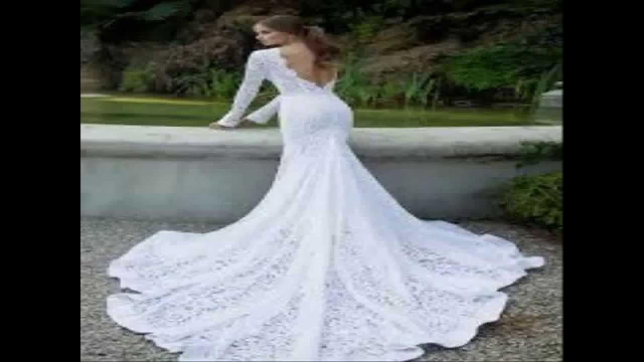 unglaubliche Hochzeitskleider - YouTube
