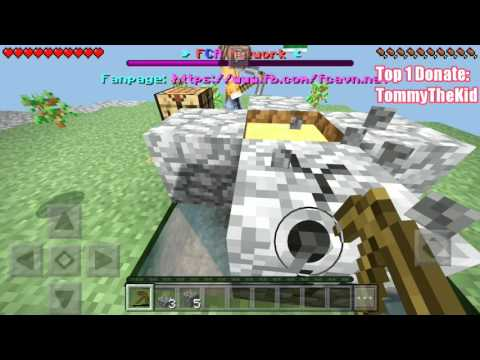 TRẢI NGHIỆM SKYBLOCK TRONG SEVER FCA   Minecraft PE 1.1.0.9