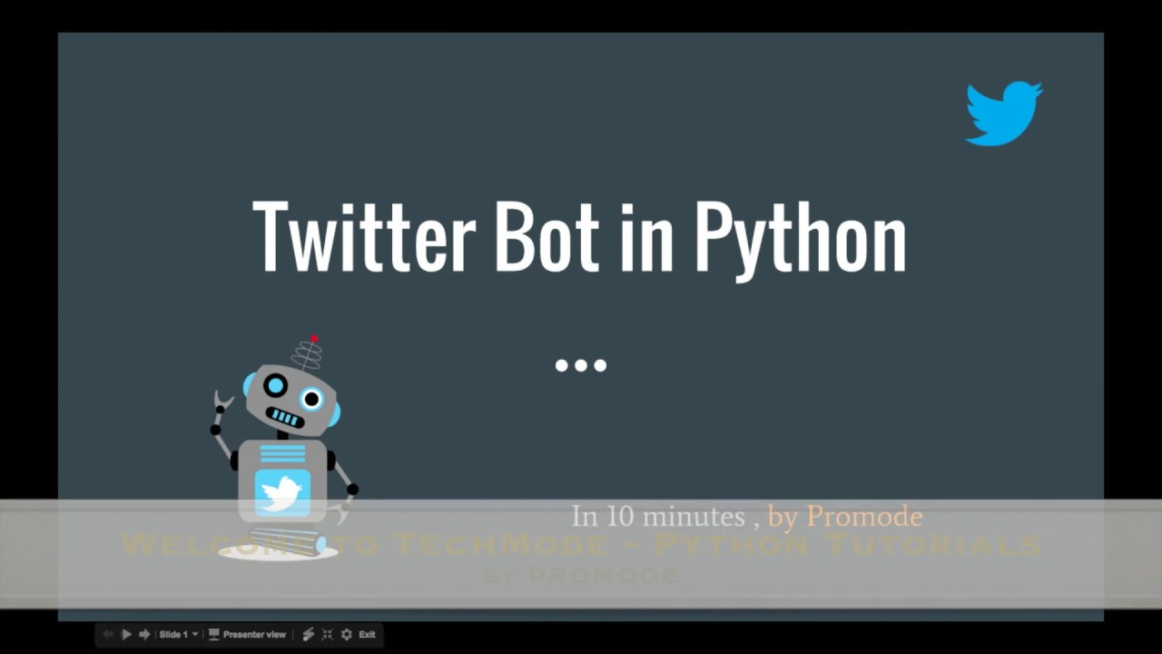 Using Tweepy to post in Twitter in Python