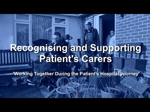Recognising and Supporting Patient's Carers - Chesterfield Royal Hospital NHS Foundation Trust