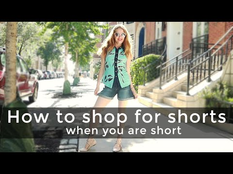 Summer fashion for women over 40 -  how to shop for shorts