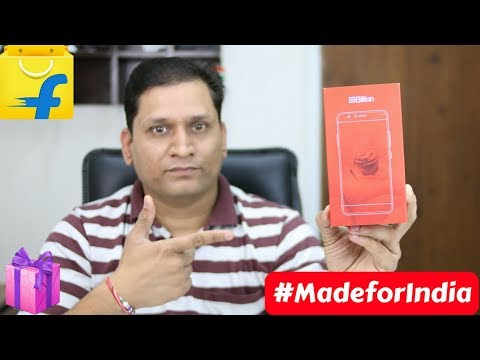 Flipkart Billion Capture+ Unboxing & First Look | MadeForIndia | Xiaomi Killer is Here