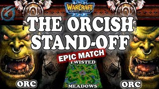 Grubby | Warcraft 3 TFT | 1.29 | ORC v ORC on Twisted Meadows - The Orcish Stand-Off
