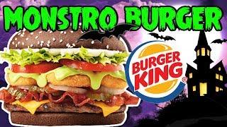 HALLOWEEN BURGER KING | Monstro Burger e Milk Shake