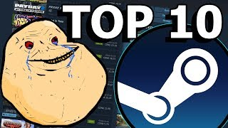 Top 10 Steam Games To Play When Bored and Alone | 2018 Edition |