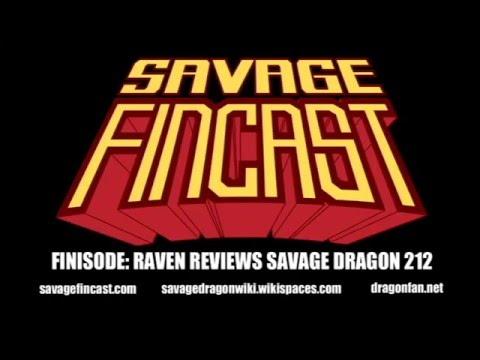Savage Finisode-Raven reviews Savage Dragon 212