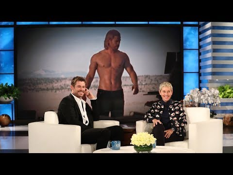 Ellen Celebrates Chris Hemsworth's Body of Work