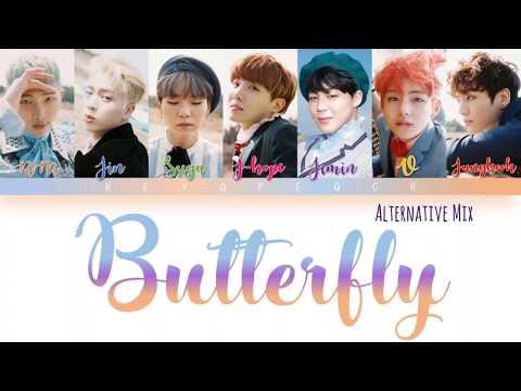 Клип BTS - Butterfly (Alternative Mix)
