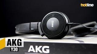 aKG Y30  обзор накладных компактных наушников