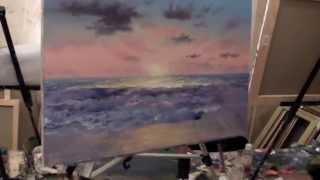 ПОЛНЫЕ ВИДЕО ИГОРЯ САХАРОВА! Морской пейзаж. Мастер класс Игоря Сахарова.