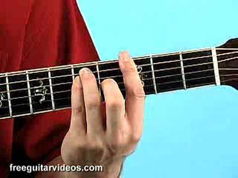 Beginner Guitar Lesson Barre Chords Youtube