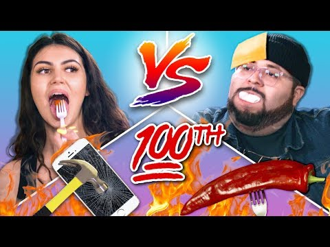 We Try The Ultimate Viral Challenge | 100th Challenge Chalice Episode