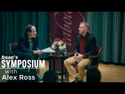 Dean's Symposium Series: Alex Ross