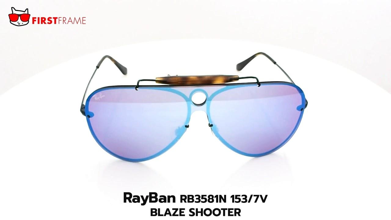 RayBan RB3581N 153 7V BLAZE SHOOTER - YouTube 484a552593