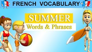 Gambar cover FRENCH VOCABULARY - FRENCH SUMMER WORDS & PHRASES
