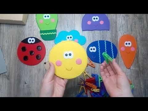 Развивающие игры из фетра своими руками для детей картинки