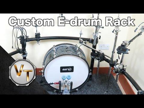 E-drum Custom Rack - DIY