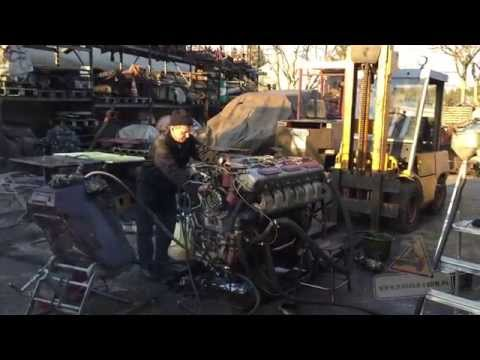 T-72 RUSSIAN V12 Diesel Engine start after 10 years SOUND PANZER FARM