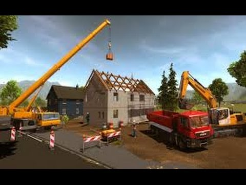 construction simulator 2015 (funny stuff in the game as well)  