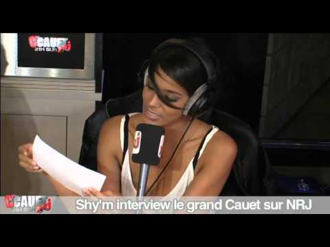 Youtube: Shy'm interview le grand Cauet – C'Cauet sur NRJ