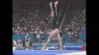 Лилия Подкопаева - Lilia Podkopayeva - Floor exercise - Atlanta 96