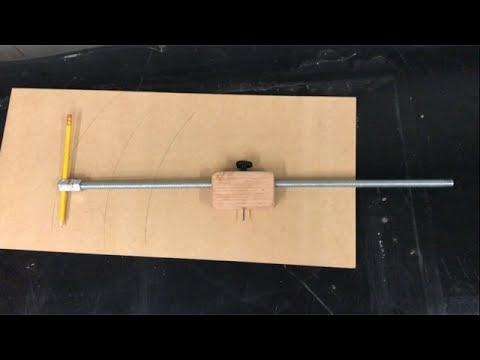 How To Make A Beam Compass