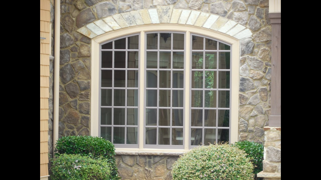 Amazing exterior windows home depot home improvements for Custom design windows